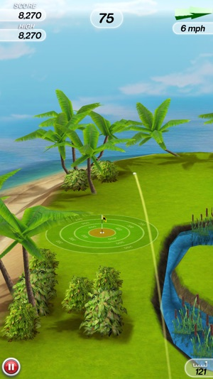 Flick Golf! Screenshot