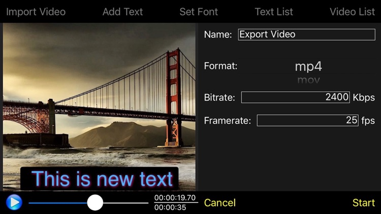 Video Subtitle Edit Pro - Video Text Editor screenshot-4