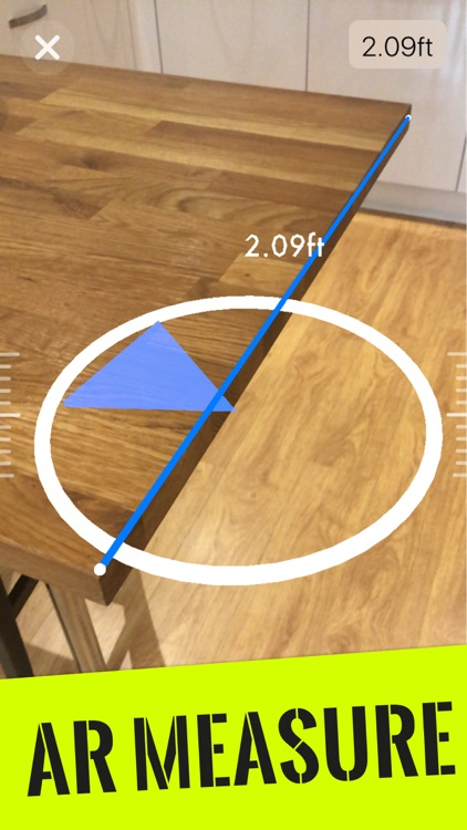 Augmented Reality Tape Measure