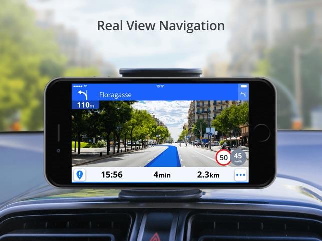 Sygic Europe - GPS Navigation Screenshot