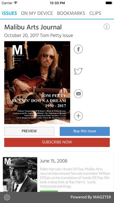 Malibu Arts Journal screenshot 1