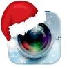 クリスマス写真編集者フォトフレーム