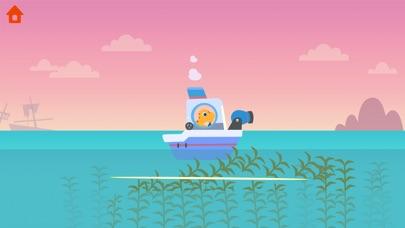 恐龙巡逻艇 - 轮船儿童游戏
