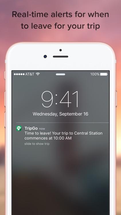 TripGo: Transport Planner screenshot-3