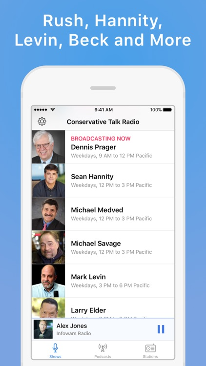 Conservative Talk Radio Plus screenshot-1