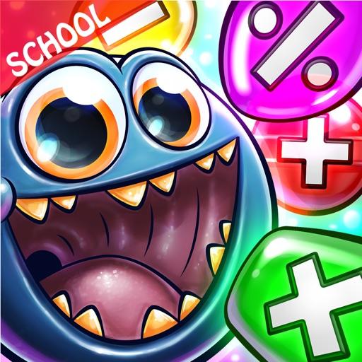 Monster Math Practice Games