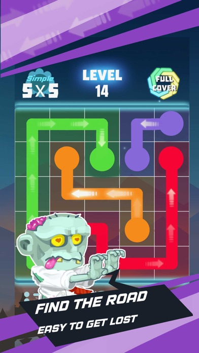 Fill Line Puzzle - Mind Games Screenshot on iOS
