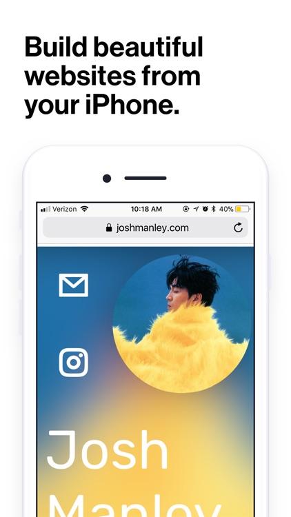 Universe — Website Builder screenshot-0