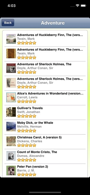 how to access audiobooks on iphone audio books librivox on the app 18536