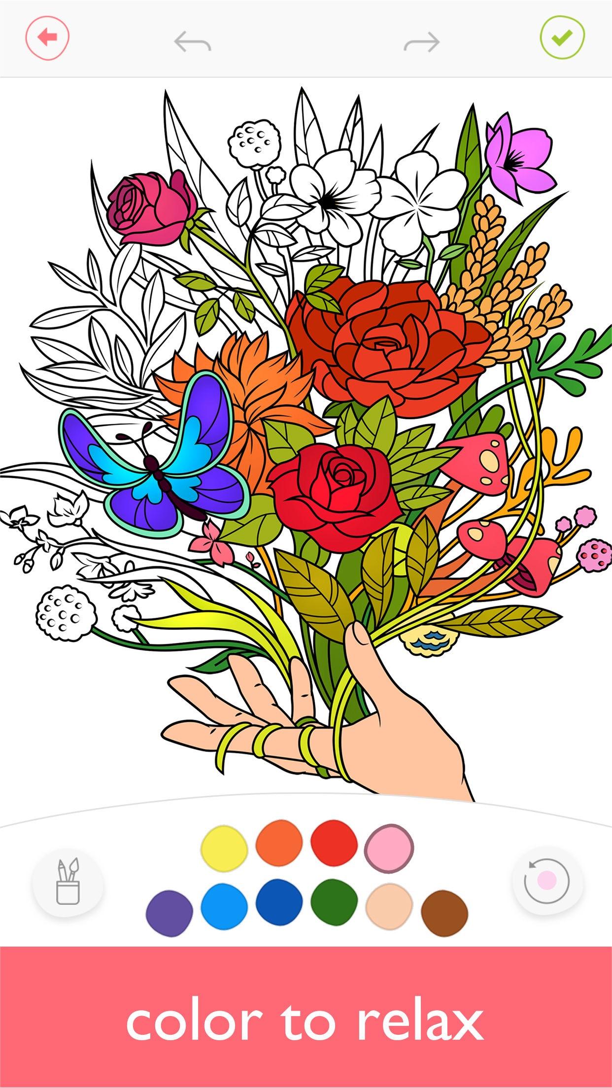 Colorfy: Coloring Book & Arts Screenshot