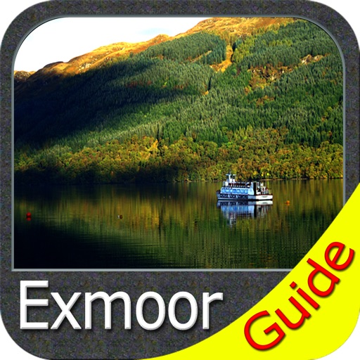 Exmoor National Park - GPS Map Navigator