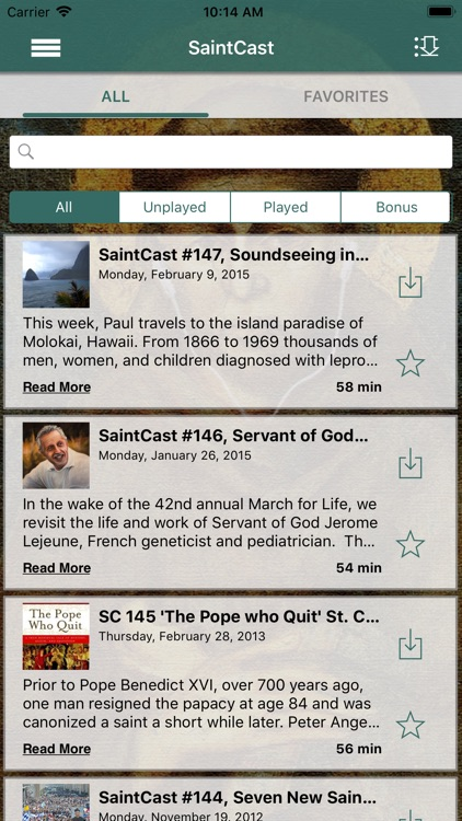 The SaintCast App