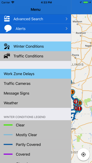Minnesota Department Of Transportation Traffic Map.Modot Traveler Information On The App Store