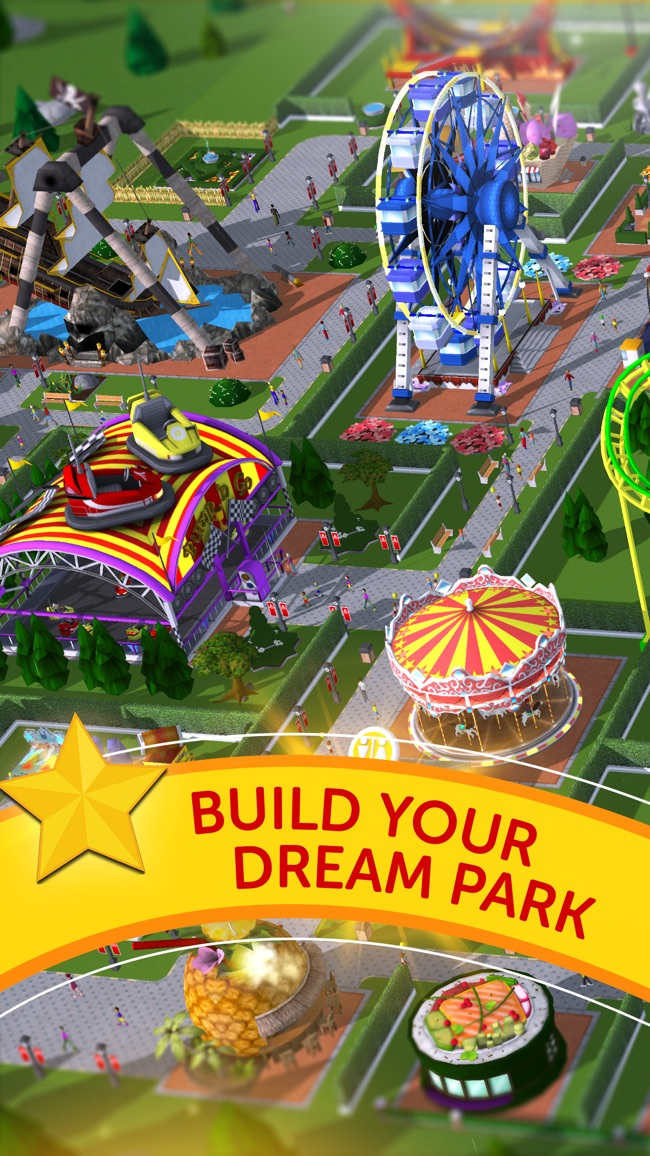 RollerCoaster Tycoon® Touch™ Screenshot