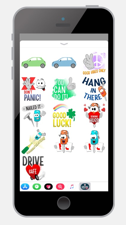 Learn to Drive Sticker Pack screenshot-3