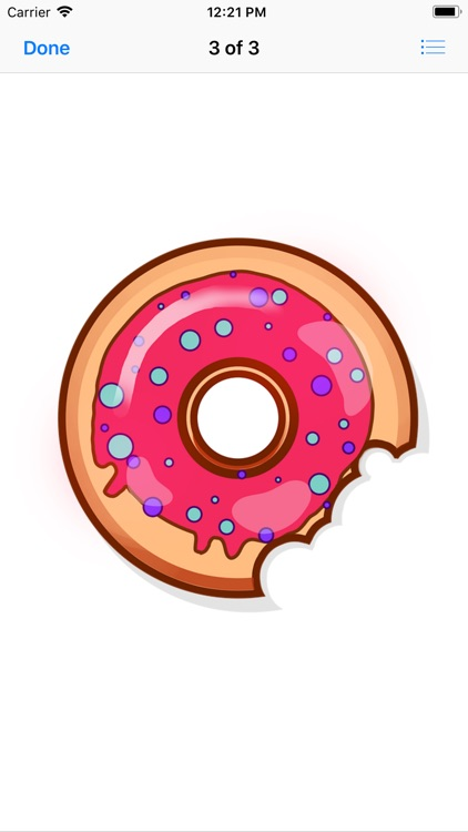 Decadent Donut Stickers screenshot-4