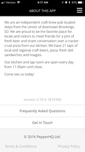 Wooden Legs Brewing Co On The App Store