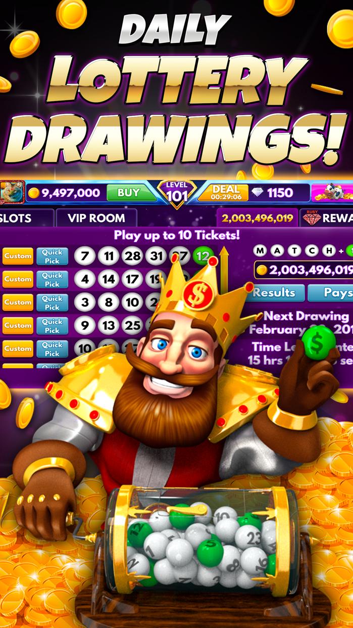 Diamond Sky: Slots & Lottery Screenshot