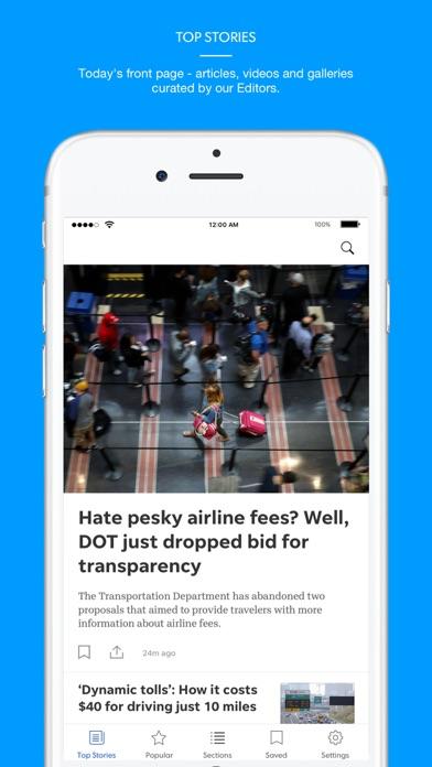 Citizen Times Screenshot on iOS