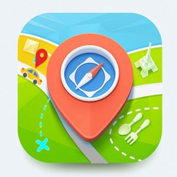 GPS Route Finder & Earth Maps
