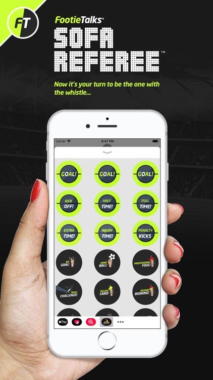 FootieTalks Sofa Referee screenshot-0