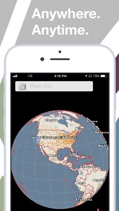 Screenshot for kmaps.co - Offline Nav & Maps in Lebanon App Store