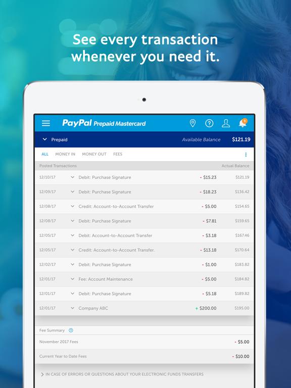 PayPal Prepaid   App Price Drops
