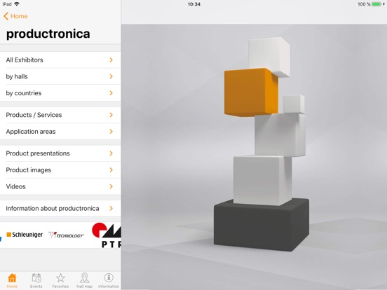 iPad Image of productronica