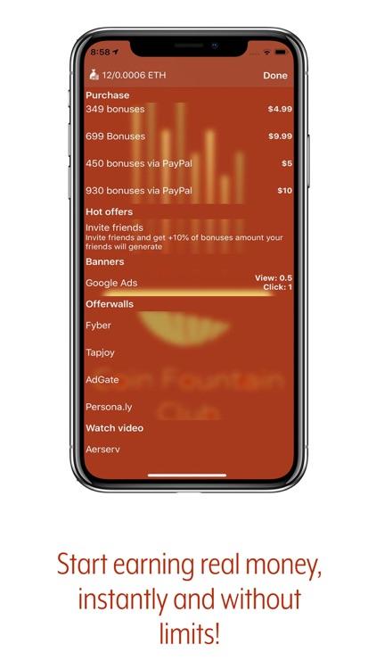 CFC Earn Money & Store Crypto screenshot-4