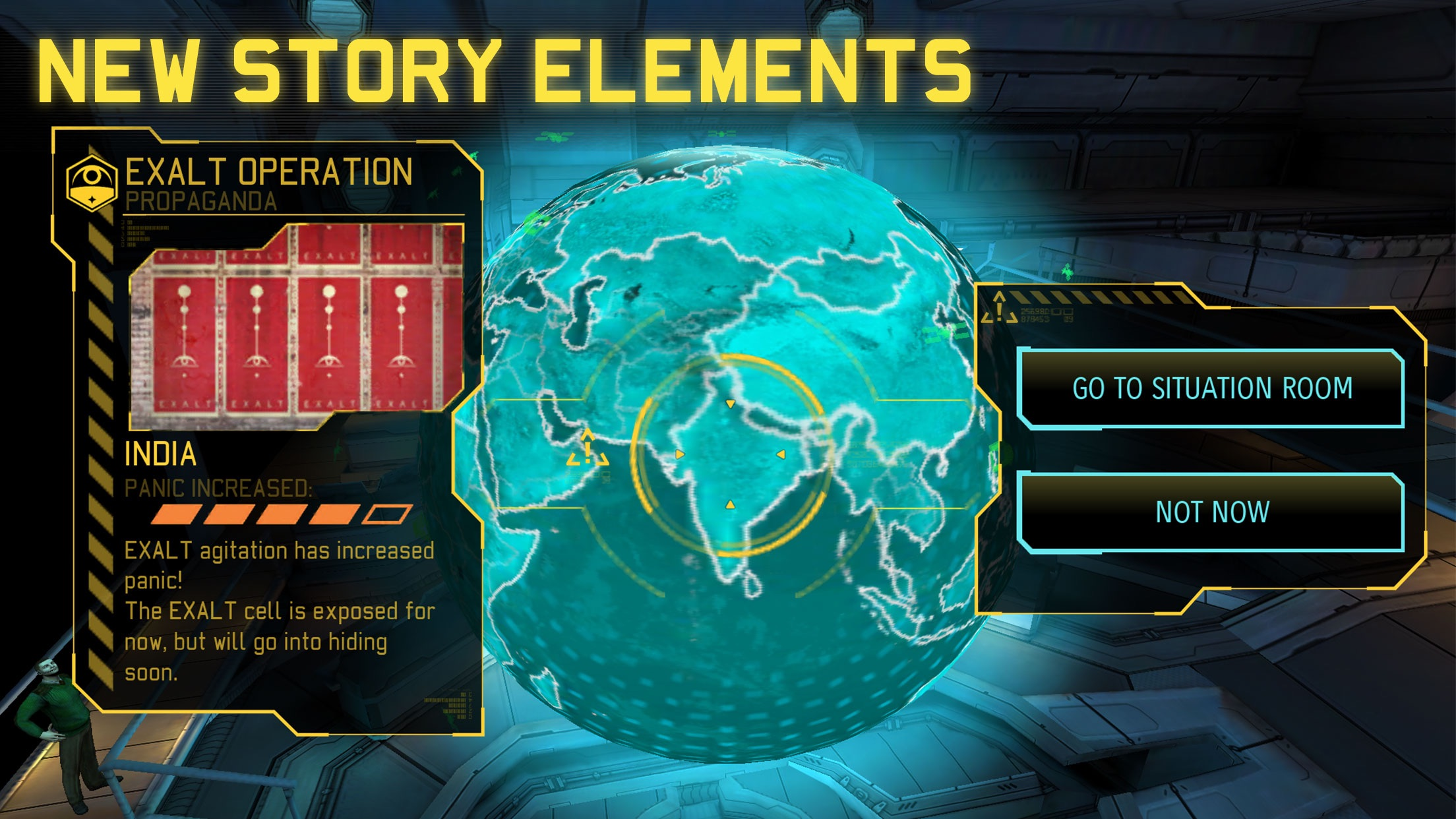 Screenshot do app XCOM®: Enemy Within