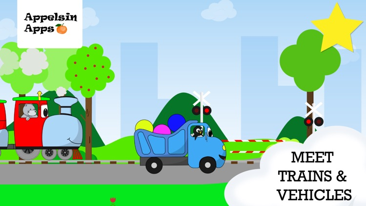 Baby Truck - Car Kids Game 2-5 screenshot-0