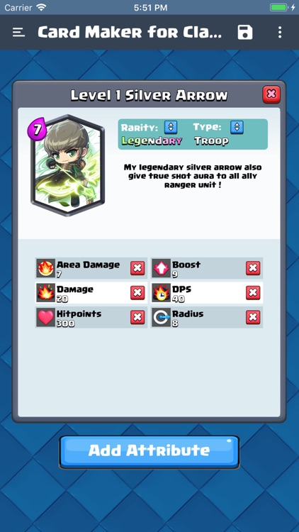 Card Maker for Clash Royale