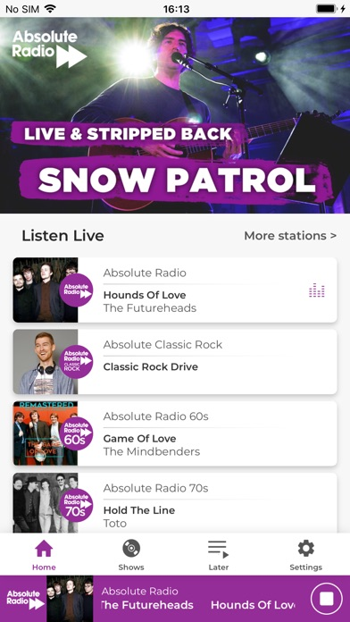 Absolute Radio - Revenue & Download estimates - Apple App Store