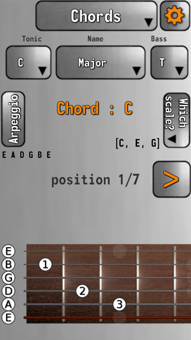 Guitare screenshot one