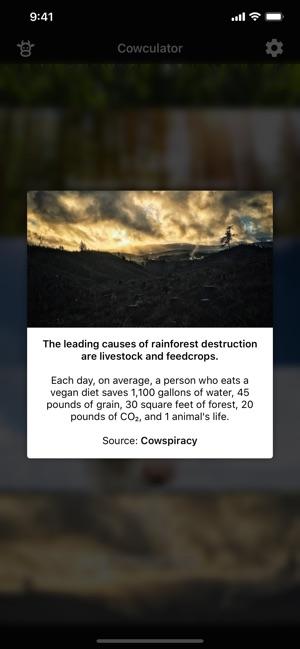 Cowculator - Friends, Not Food Screenshot
