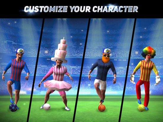 Игра SkillTwins Football Game 2