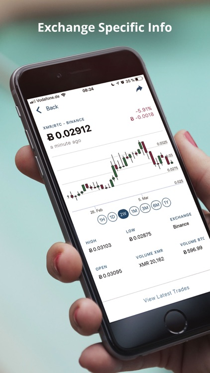 CoinViewer: Cryptocurrencies screenshot-4