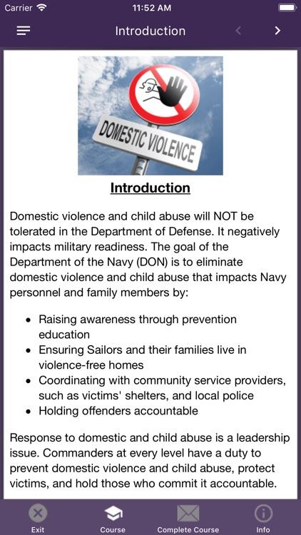 Domestic Violence Prevention screenshot-3