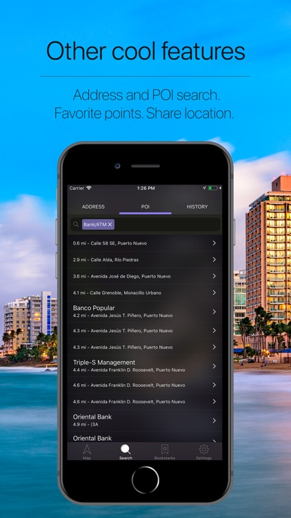 Puerto Rico Offline Navigation screenshot-4