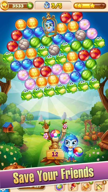 Forest Rescue: Bubble POP screenshot-0