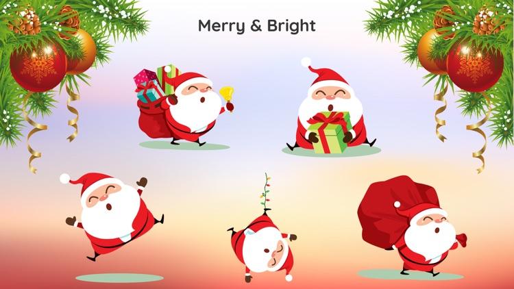 Santa Claus Christmas Sticker
