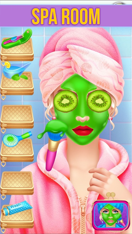 Make Up Makeover Salon Party screenshot-4