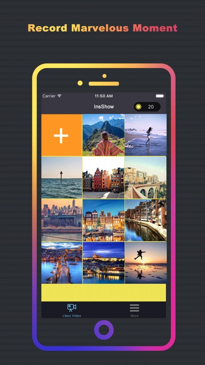 InsShow: Show Likes Photos in Video for Instagram