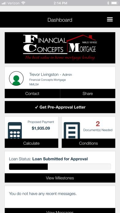 FC Mortgage screenshot two