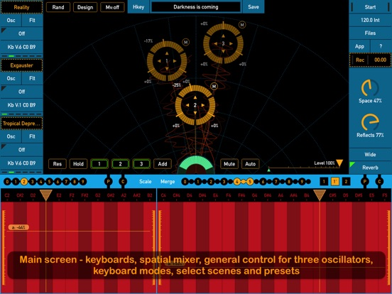 Screenshot #1 for SynthScaper