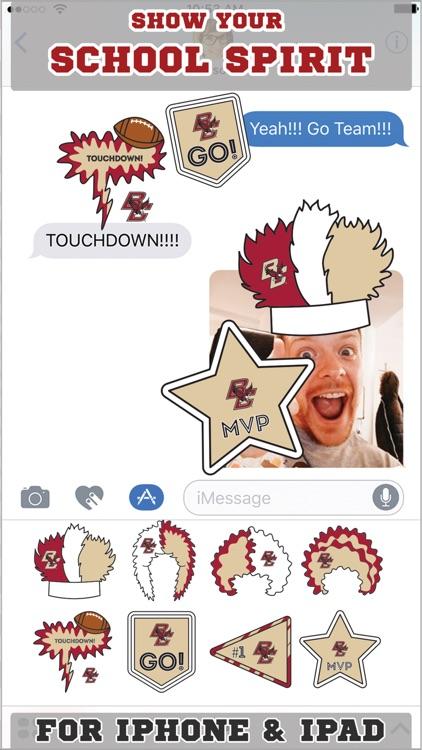 Boston College Eagles Stickers for iMessage