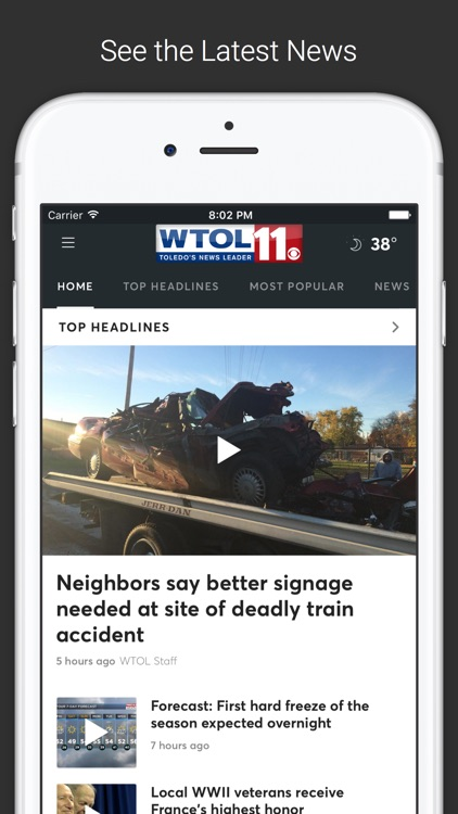 WTOL 11 News screenshot-0
