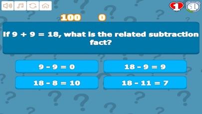 Grade 1 Math Trivia screenshot 3