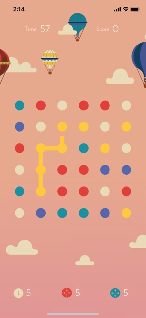 Dots: A Game About Connecting on the App Store