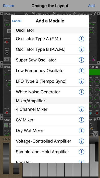 KQ MiniSynth screenshot1